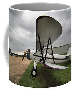 Coffee Mug featuring the photograph Boeing Stearman M7 by Linda Unger