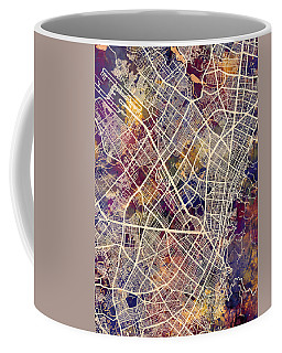 Bogota Colombia City Map Coffee Mug