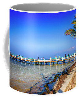 Bokeelia Fishing Pier Fl Coffee Mug