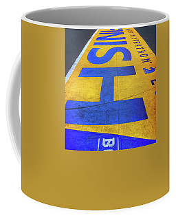 Boston Marathon Finish Line Coffee Mug by Joann Vitali