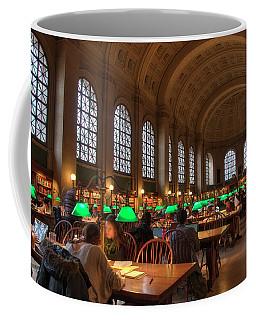 Boston Public Library Coffee Mug by Joann Vitali