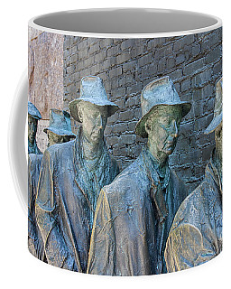 Bread Line Sculpture Coffee Mug