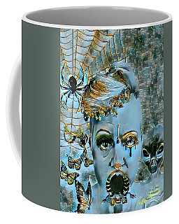 Break Free Coffee Mug by Vennie Kocsis