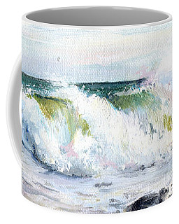 Breaking Seas Coffee Mug