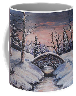 Bridge Of Solitude Coffee Mug by Megan Walsh