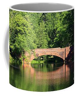 Bridge Reflection In The Spring Coffee Mug