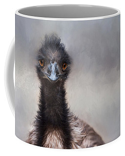 Coffee Mug featuring the photograph Bright Eyes by Robin-Lee Vieira