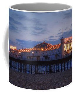 Brighton At Night Coffee Mug