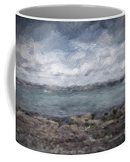 Coffee Mug featuring the photograph Brixham Harbour by Patricia Hofmeester