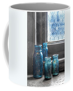 Bromo Seltzer Vintage Glass Bottles Coffee Mug