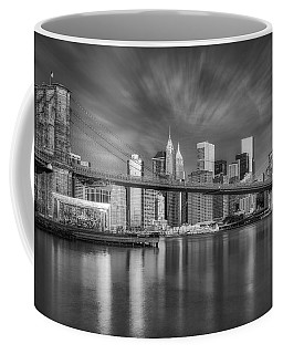 Brooklyn Bridge From Dumbo Coffee Mug by Susan Candelario