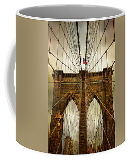Brooklyn Bridge Twilight Coffee Mug