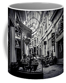 Monochrome Bucharest  Macca - Vilacrosse Passage Coffee Mug