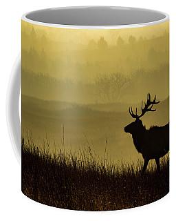 Bull Elk Coffee Mug by Jay Stockhaus