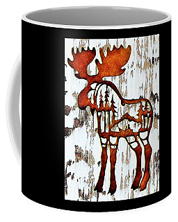 Coffee Mug featuring the photograph Bull Moose by Larry Campbell