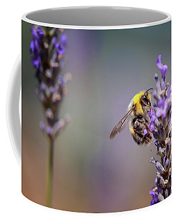 Bumblebee And Lavender Coffee Mug