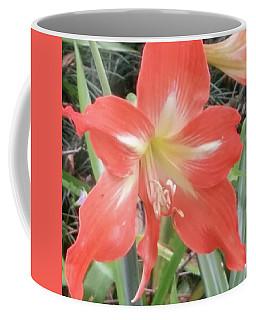 Burst Of Red Blooms Coffee Mug
