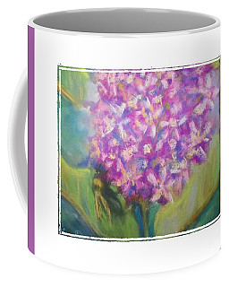 Coffee Mug featuring the photograph Busy Bee by Shirley Moravec