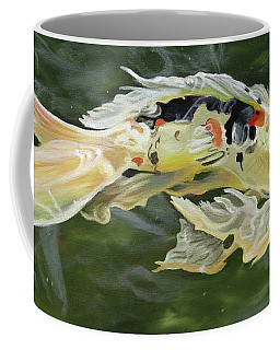 Butterfly Koi Coffee Mug by Phyllis Beiser