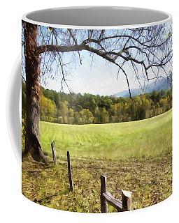 Cades Fence Coffee Mug by Ricky Dean