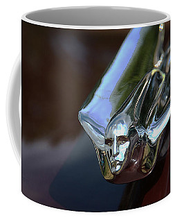 Cadillac - 1949 Hood Ornament Coffee Mug by Yvonne Wright