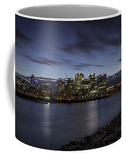 Coffee Mug featuring the photograph Canary Wharf by Ryan Photography