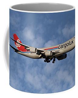 Cargolux Boeing 747-8r7 1 Coffee Mug