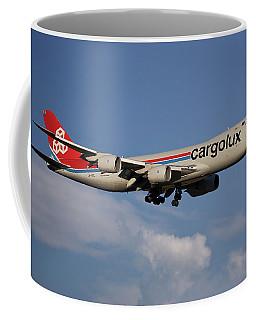 Cargolux Boeing 747-8r7 4 Coffee Mug