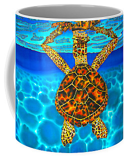 Caribbean Hawksbill Sea Turtle Coffee Mug