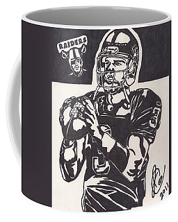 Coffee Mug featuring the drawing Carson Palmer 1 by Jeremiah Colley