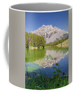 Coffee Mug featuring the photograph Cascade Mountain by Mark Mille