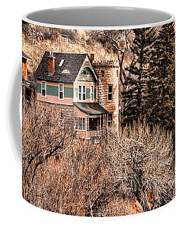 Coffee Mug featuring the photograph Castle House by Lawrence Burry