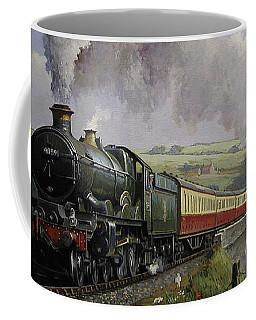 Castle On Broadsands Viaduct Coffee Mug