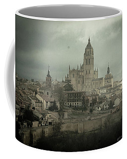 Cathedral Of Segovia Spain Coffee Mug