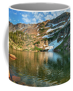 Coffee Mug featuring the photograph Cecret Lake by Spencer Baugh