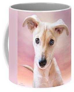 Coffee Mug featuring the mixed media Ceecee by Carol Cavalaris