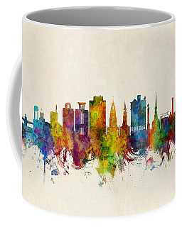 Charleston South Carolina Skyline Coffee Mug