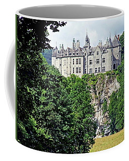 Coffee Mug featuring the photograph Chateau De Walzin - Belgium by Joseph Hendrix