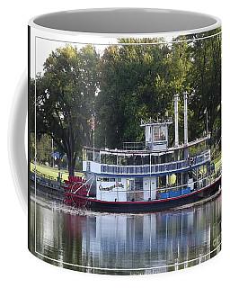 Chautauqua Belle On Lake Chautauqua Coffee Mug by Rose Santuci-Sofranko