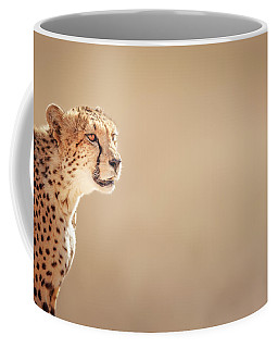 Cheetah Portrait Coffee Mug