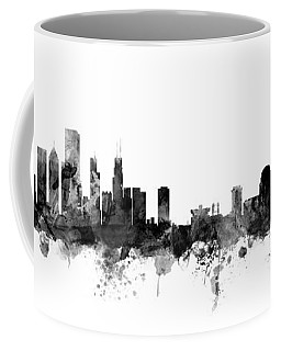 Chicago And St Louis Skyline Mashup Coffee Mug