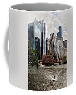 Chicago River Jet Ski Coffee Mug