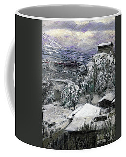 Chiesa San Vito In The Snow Coffee Mug