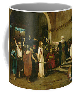Christ Before Pilate Coffee Mug