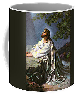 Christ In The Garden Of Gethsemane Coffee Mug