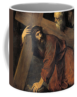 Christ On The Way To Calvary Coffee Mug