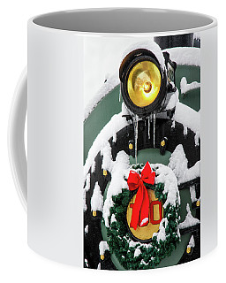 Christmas Train At Pacific Junction Coffee Mug