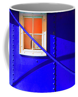 Coffee Mug featuring the photograph Chromatic by Wayne Sherriff
