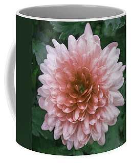 Chrysanthemum Art Coffee Mug