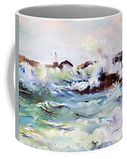 Churning Surf Coffee Mug